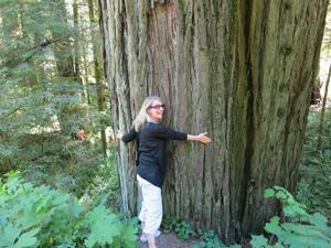 Sunna, treehugger.